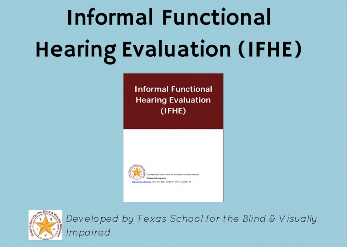 Informal Functional Hearing Evaluation