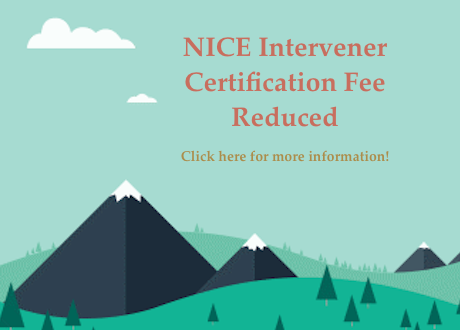 NICE Intervener Certification Fee Reduced