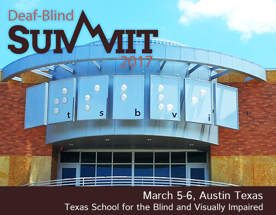photo of Texas school for blind with summit dates